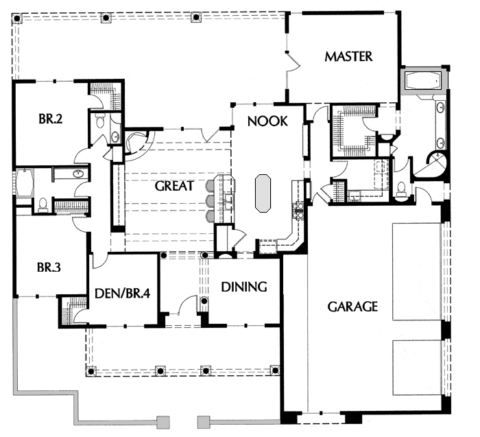 Floor Plans Drawing